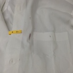 2カッターシャツ ワイン 初期化美白